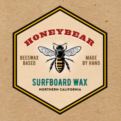 Honeybear Surf Wax Packaging
