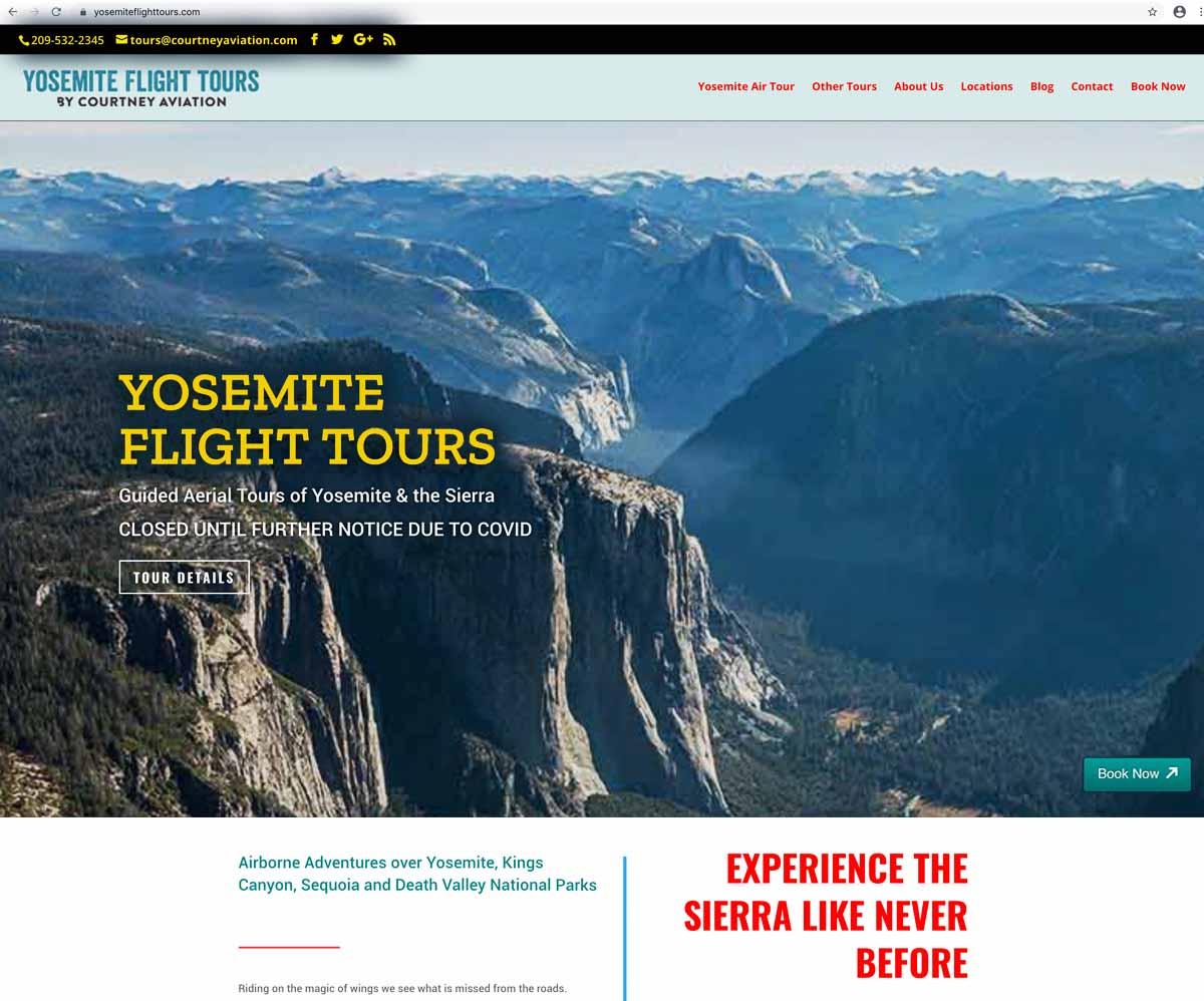 Yosemite Flight Tours